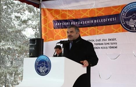 Kayseri Develi'de altyapı çalışmaları açılış töreni düzenlendi!