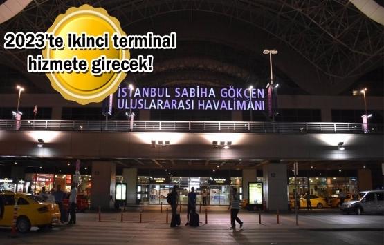Sabiha Gökçen Havalimanı'nın ikinci pisti yıl sonunda tamamlanacak!