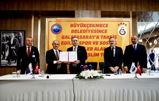 Büyükçekmece'deki 130 dönümlük arazi Galatasaray'a tahsis edildi!