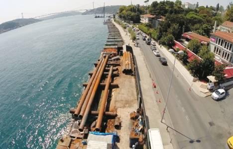 İstanbul Boğazı Emirgan'da