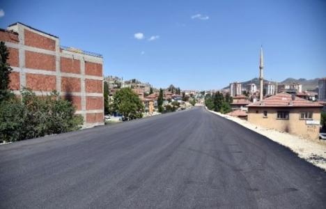 Altındağ Ulubey'de yol