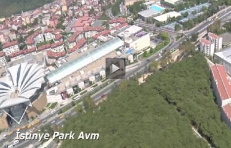 İstinye'de hayata geçirilen 7 projenin havadan görüntüleri!