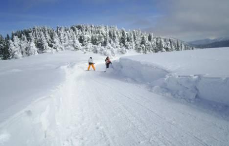 Ilgaz'da kayak sezonu