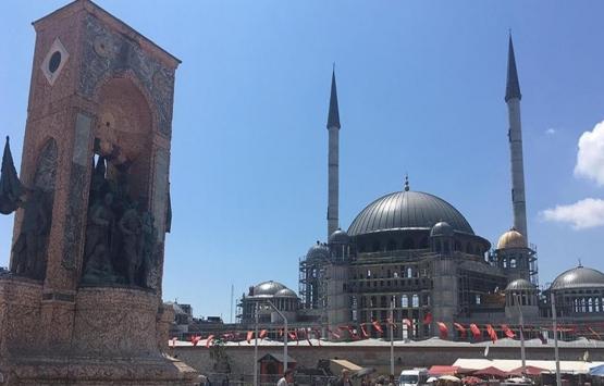 Taksim Cami'nin inşaatı tamamlanıyor!