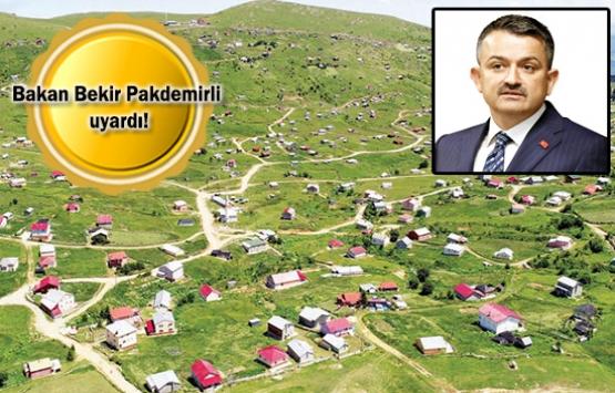 2B arazilerine bina yapanlara hapis cezası!