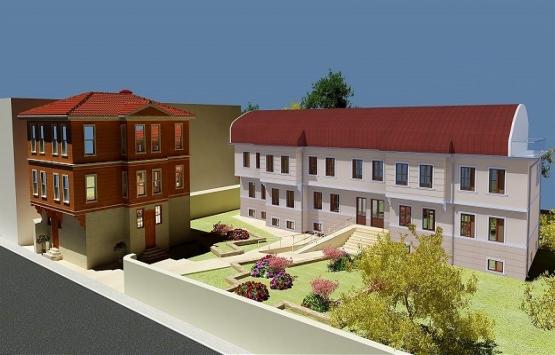 Fatih Vani Dergâhı Semt Konağı'nın inşaatı tamamlanıyor!