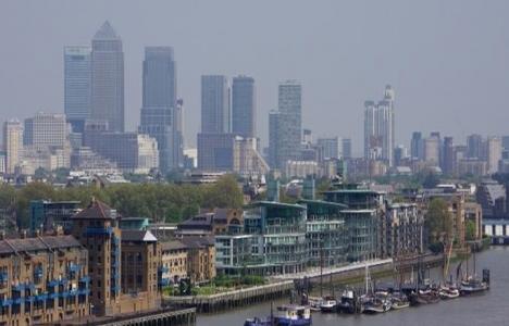Londra'nın bankerleri bavul