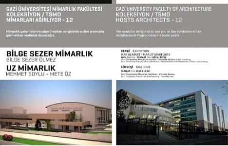 Gazi Üniversitesi Koleksiyon/TSMD Mimarları ağırlıyor!