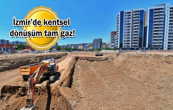 İzmir Örnekköy Dönüşüm Projesi'nde tahliye ve yıkım işlemleri tamamlandı!