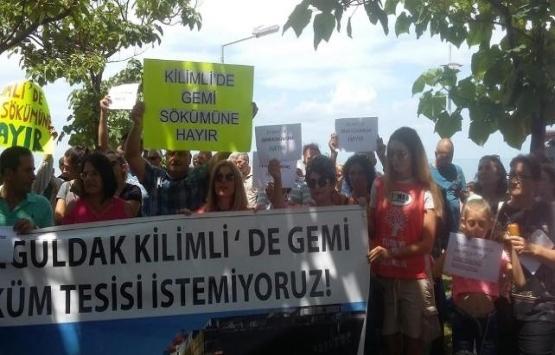 Zonguldak'ta gemi söküm