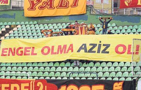 Aziz Kocaoğlu'na stat