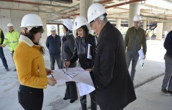 Çanakkale Yeşil Yerel Yönetim Binası'nın inşaatında sona gelindi!