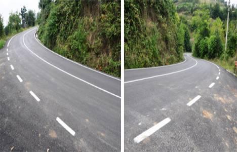 Başiskele köy yolları yenileniyor!