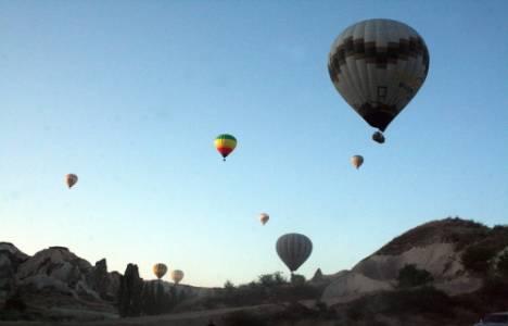 Kapadokya'da bayram rezervasyonları yüzde 90'a ulaştı!