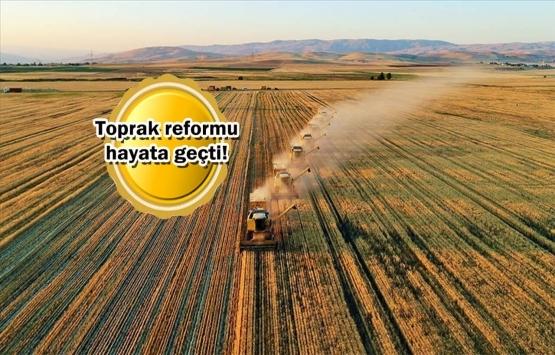 Hükümet miras kalan tarım arazileri için harekete geçti!