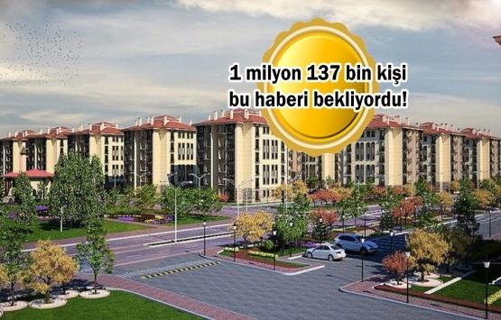 TOKİ 100 bin sosyal konut projesinde kura tarihi belli oldu!