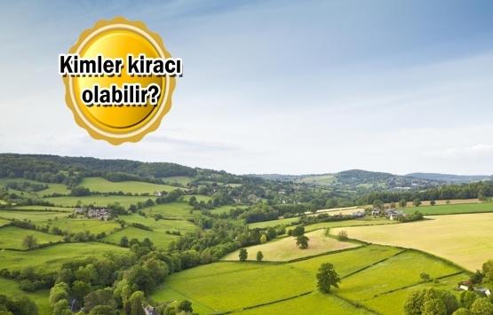 Kiralanacak tarım arazileri hesaplanıyor!