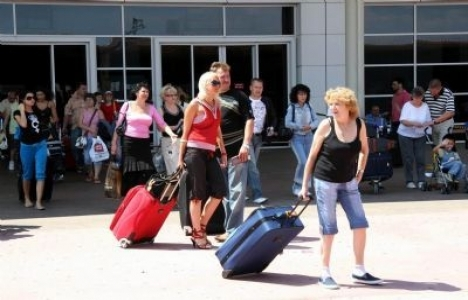 Yabancı turist sayısı 2014'te yüzde 5.5 arttı!
