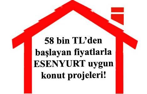 Esenyurt ucuz konut projeleri 2013!