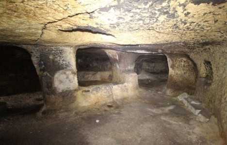 Nevşehir yeraltı şehrinde ilk etap 2017'de açılacak!