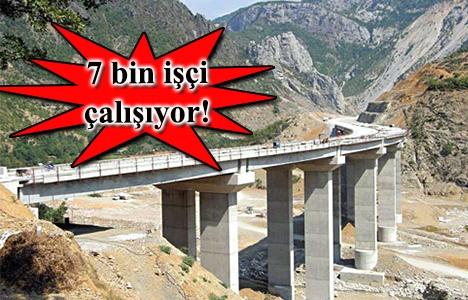 Kuzey Marmara Otoyolu'nda