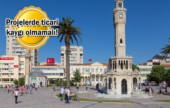 İzmir'de ada bazında kentsel dönüşüm şart!