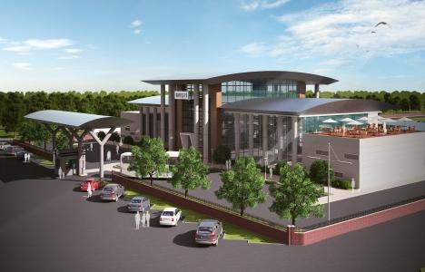 Muş Otobüs Terminali'nin inşaatı başladı!