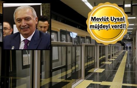 Üsküdar-Ümraniye-Çekmeköy Metrosu 1 ay içinde açılacak!