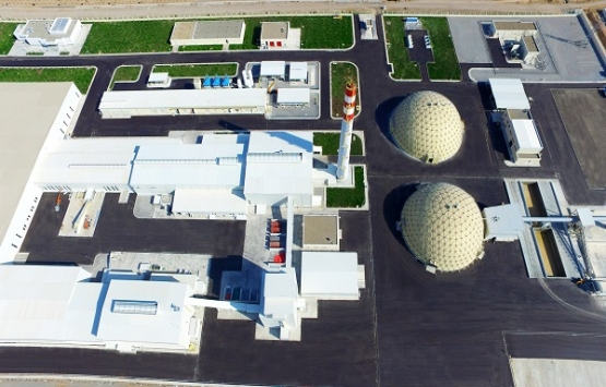 Türkmenistan Milli Cam Kompleksi açıldı!