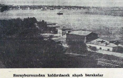 1938 yılında Sarayburnu'ndaki