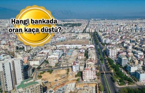 Özel bankalar da konut kredi faizlerini indirdi!