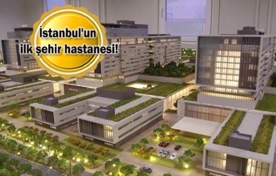 Başakşehir Şehir Hastanesi'nin