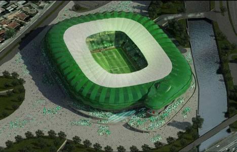 Sözüneri Mimarlık, Timsah Arena projesini tasarladı!