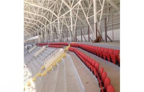 Malatya Arena Stadı'nda koltuk montajı yapılıyor!