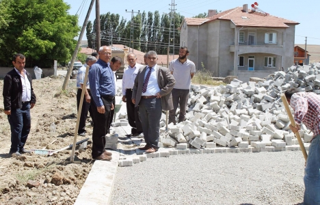 Yozgat'ta altyapı çalışmaları hız kazandı!