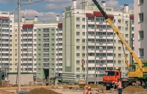 Rusya inşaat sektöründe