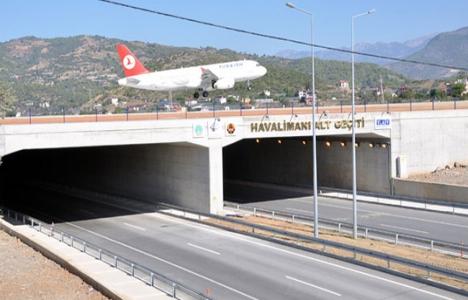 Gazipaşa- Alanya Havalimanı'nda