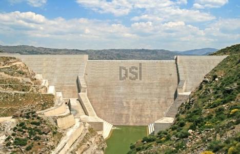 Alaköprü Barajı'nda elektrik