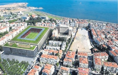 Karşıyaka Stadı'nın yapımına