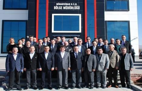 Mustafa Boydak şehir içinde kalan sanayi tesislerini Mimarsinan OSB'ye davet etti!