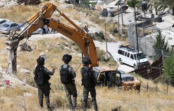 İsrail güçleri Mescid-i Aksa Koruma Müdürü Fadi İleyyan'ın evini yıktı!