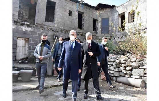 Diyarbakır'daki tarihi Borsa Han kamulaştırılarak restore edilecek!