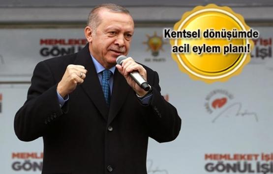 Cumhurbaşkanı Erdoğan: Kaçak yapılaşmada sabrımız taştı!