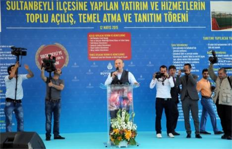 Sultanbeyli'ye 622 milyon