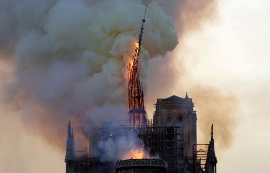 Notre Dame'ın yıkılan kulesinin yeniden inşası için yarışma düzenlenecek!