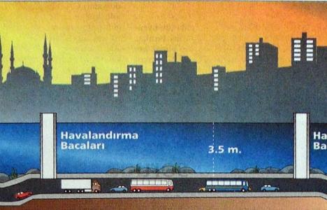 1998 yılında Haliç'in altına otopark!