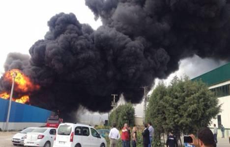 Batışehir Premuim Rezidans'ın en üst katında yangın çıktı!