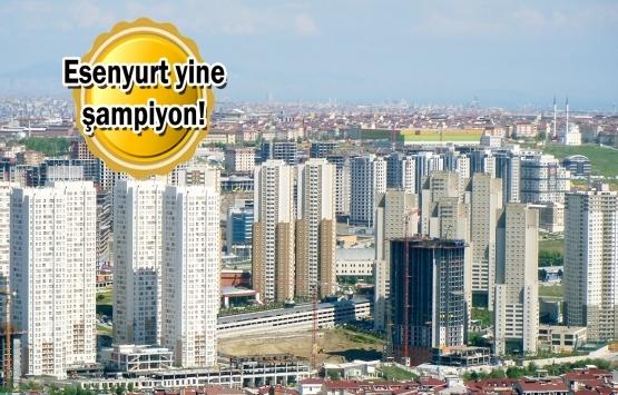 İstanbul'da konut satış rekoru: En fazla Esenyurt'ta satıldı!