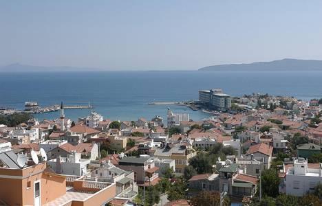 İzmir Mordoğan'a atık