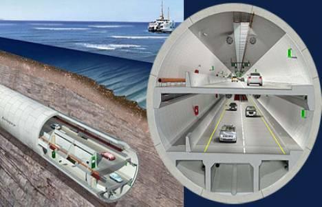 Avrasya Tüp Tünel Projesi kapsamında İstanbul Boğazı'nın altı delinecek!